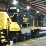 Industrial painting WATCO train
