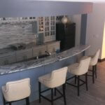 interior wet bar painting